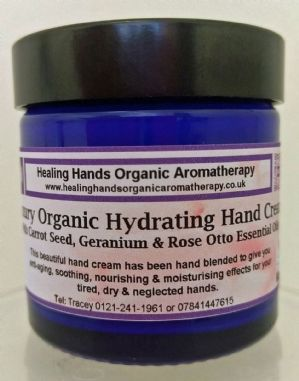 Natural Organic Rose Otto & Frankincense Aloe Vera Hand Cream 60ml